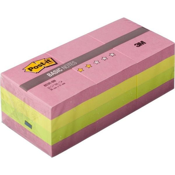 Блок-кубик Post-it Basic 653R-BN